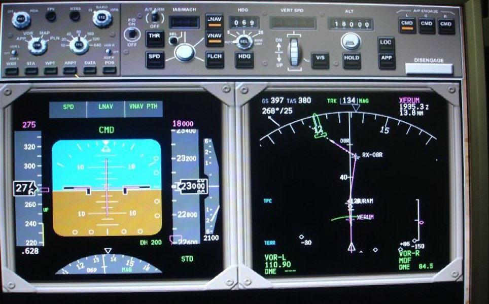 Flight Sim Project Magenta Display Setup 747-400